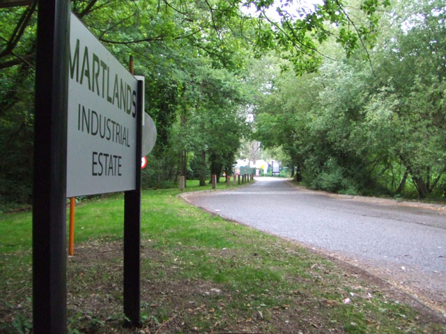 Woking Martlands Industrial Estate Landscaping