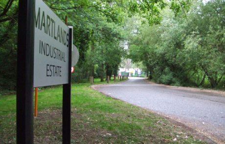 Woking Martlands Industrial Estate Landscaping